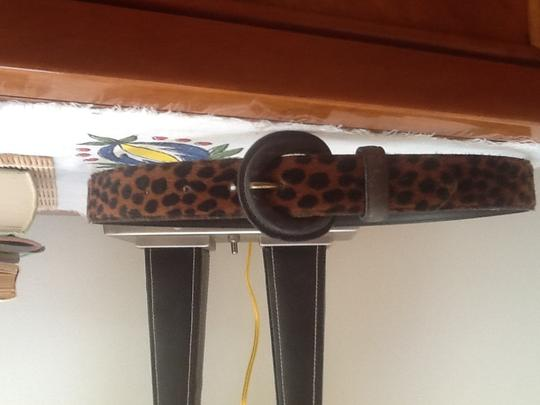 Other Real animal skin hair belt.