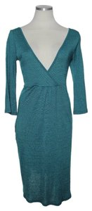 Michael Stars short dress Teal Green Shimmer on Tradesy