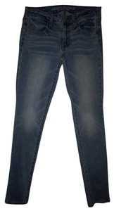American Eagle Outfitters Stretchy Denim Jeggings-Light Wash