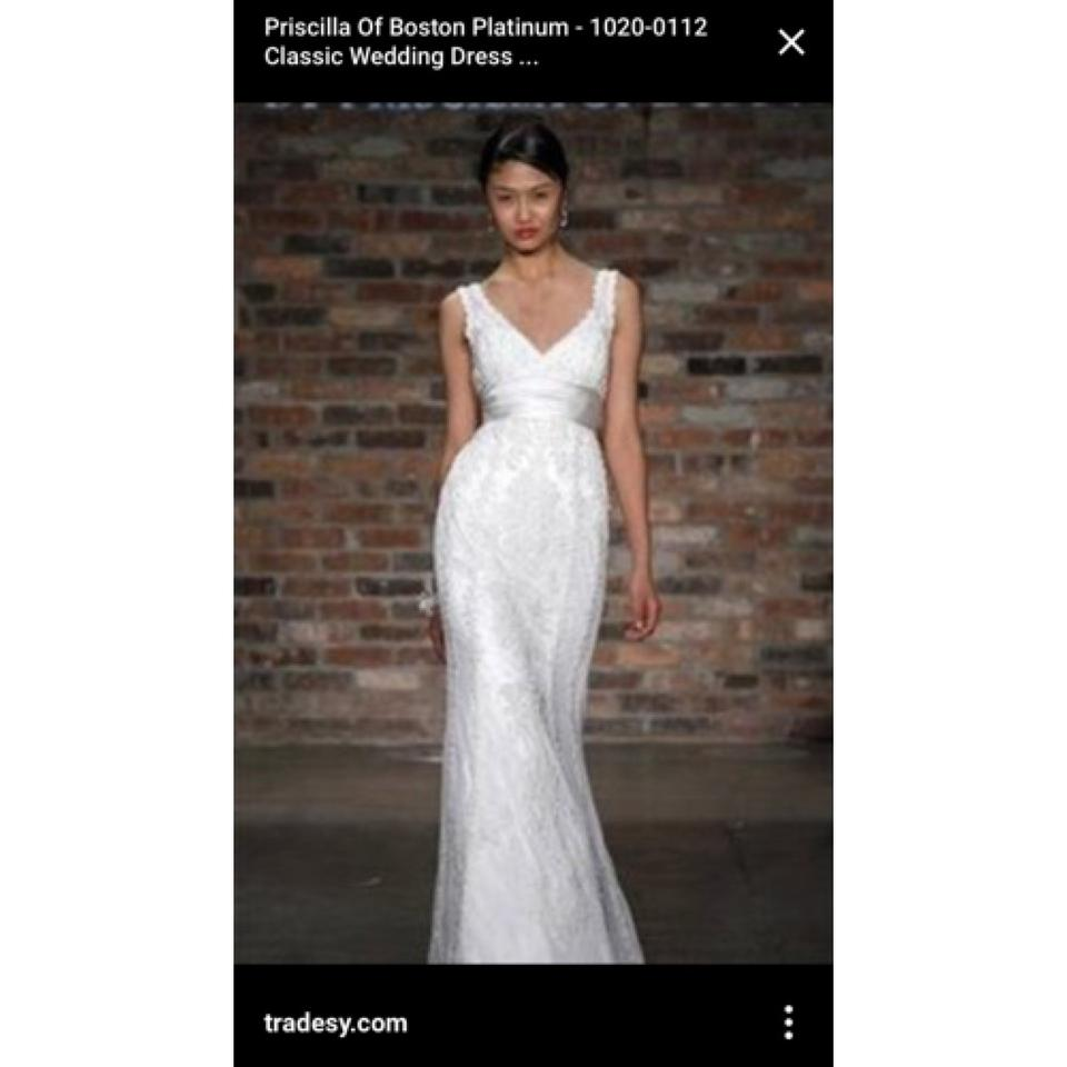 Priscilla Of Boston Wedding Dress - Tradesy