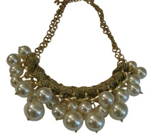 Pearl statement stunning ivory necklace