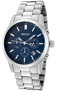 DKNY DKNY Chronograph Steel Bracelet Blue Dial Men watch NY1466