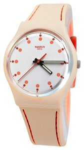 Swatch Swatch GT106T Unisex Pink Analog Watch With White Dial
