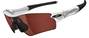 Oakley 09-762 Oakley Sunglasses Radar Path Polished White V28 Black IridIum
