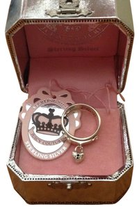 Juicy Couture Sterling Silver Locket Ring
