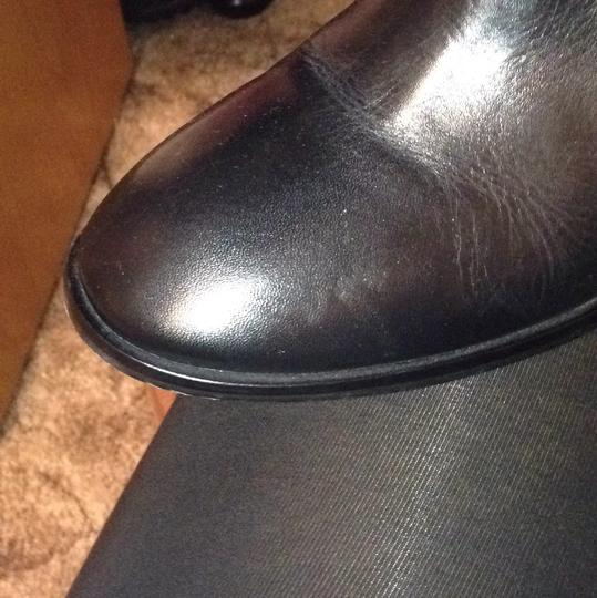 Tory Burch Leather Black Boots