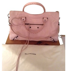 Balenciaga powder pink satchel Satchel in Powder Pink