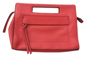 Coach Leather Spring Love Red Clutch