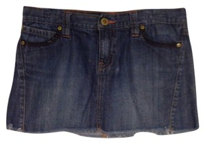 Old Navy Mini Skirt Medium denim
