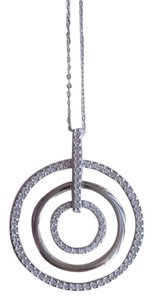 Swarovski Swarovski Tri-circle pendant necklace