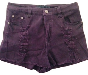 MINKPINK Shorts Burgundy