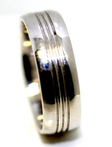 7mm Platinum Band