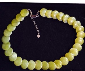 Natural Gemstone Jade Necklace
