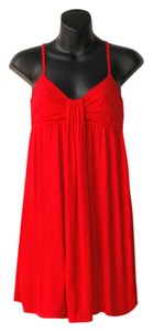 French Connection short dress red Stretch on Tradesy