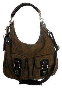 Gianfranco Ferre Suede Leather Hobo Bag
