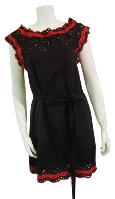 Patricia J. Kincaid short dress Red, Black on Tradesy