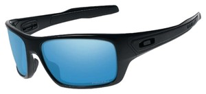 Oakley Oakley Turbine Polished Black/Prizm Deep Water OO9263-14 Sunglasses