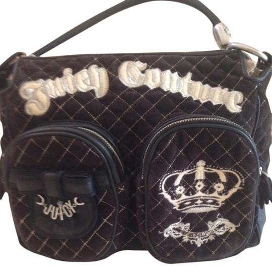 Juicy Couture Vintage Extra Velour Hand Travel Hand Shoulder Bag
