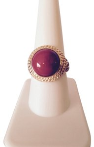 Embellished by Leecia Coral Ring, Size 9