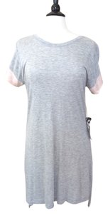 Young Fabulous & Broke short dress Gray Tunic Shift Shirt on Tradesy