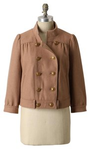 Anthropologie Wool Double Breasted Military Jacket