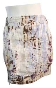 Barami Skirt White, Blue, Silver, Purple, Brown