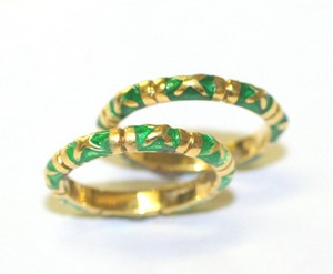 Yellow Green Guards Ring