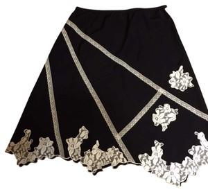 Maggie Sweet Skirt Black n white