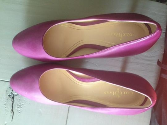 Cole Haan Heels Comfy Heels Nike Air Leather Night Out Date Night Purple Pumps