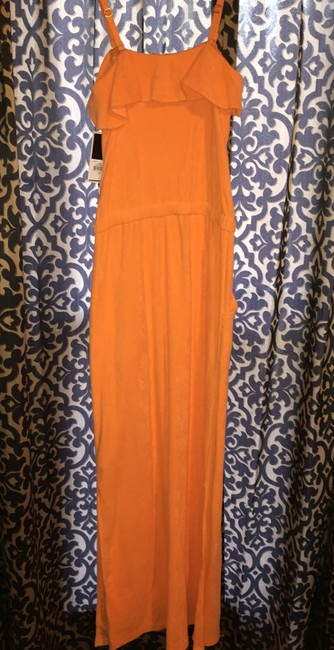 Orange Maxi Dress by Juicy Couture Maxi Velour