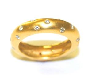 Dome Flat Eternity Ring