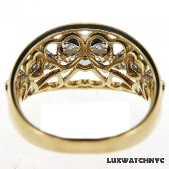 Other BRAND NEW, 18K Yellow Gold Diamond Heart Ring
