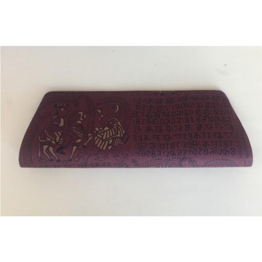 Sir Alistair Rai Purple Clutch