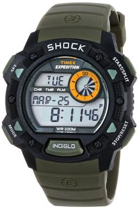 Timex Timex Men's T49975 Black Quartz Watch with Digital Dial