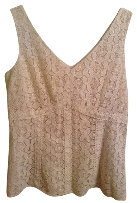 Item - Shell: 84% Cotton12% Acetate 4% Other Fiber Lining: Polyester Dry Clean Only Cream Top