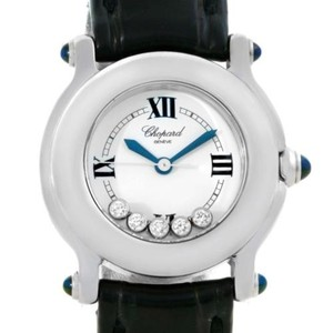 Chopard Chopard Happy Sport White Dial Floating Diamond Watch 278245-23
