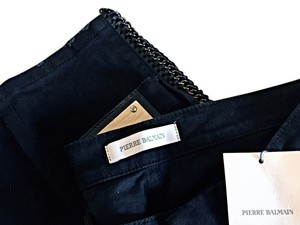 Balmain Capri/Cropped Denim-Dark Rinse