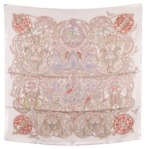 Hermès Hermes Silk Scarf COMME HISTOIRES (Authentic Pre Owned)