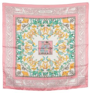Hermès Hermes Silk Scarf EARLY AMERICA (Authentic Pre Owned)