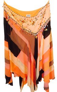 Cache Skirt Orange/brown