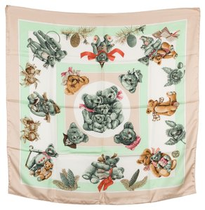 Hermès Hermes Silk Scarf CONFIDENTS DESCOEURS (Authentic Pre Owned)