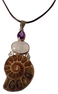 Embellished by Leecia Ammonite Pendant Only! Matching Pieces Sold Seperately