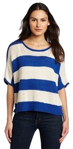 Anthropologie Oversized Striped Boxy Sweater
