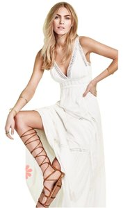 Max Studio short dress IVORY Nordic Nights Sweater Free People on Tradesy
