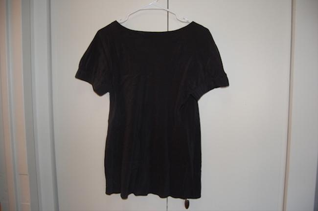 Gap Wear To Work Square Neck Sleeve Detail Top Black