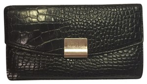 Kenneth Cole Wallet Wallet Wristlet in Black Leather