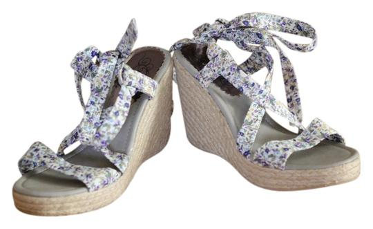 Mally multi color Wedges