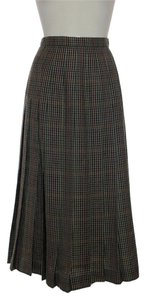 Burberry 100% Wool Skirt