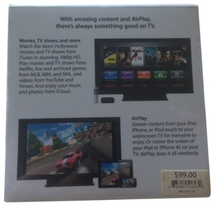 Apple Apple TV - BRAND NEW (never opened) FREE SHIPPING - USPS Priority Mail