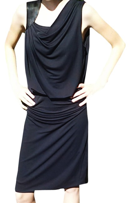 Halston Shift Sheath Dress